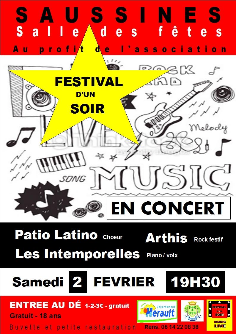 Fest hiver d un soir concert